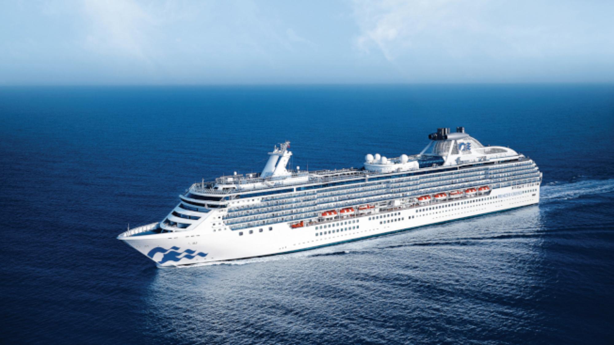 因為爆發疫情而在海上漂流數日的「珊瑚公主號」郵輪,終於可望於4日在佛羅里達州勞德岱堡的港口靠岸。(TNS)