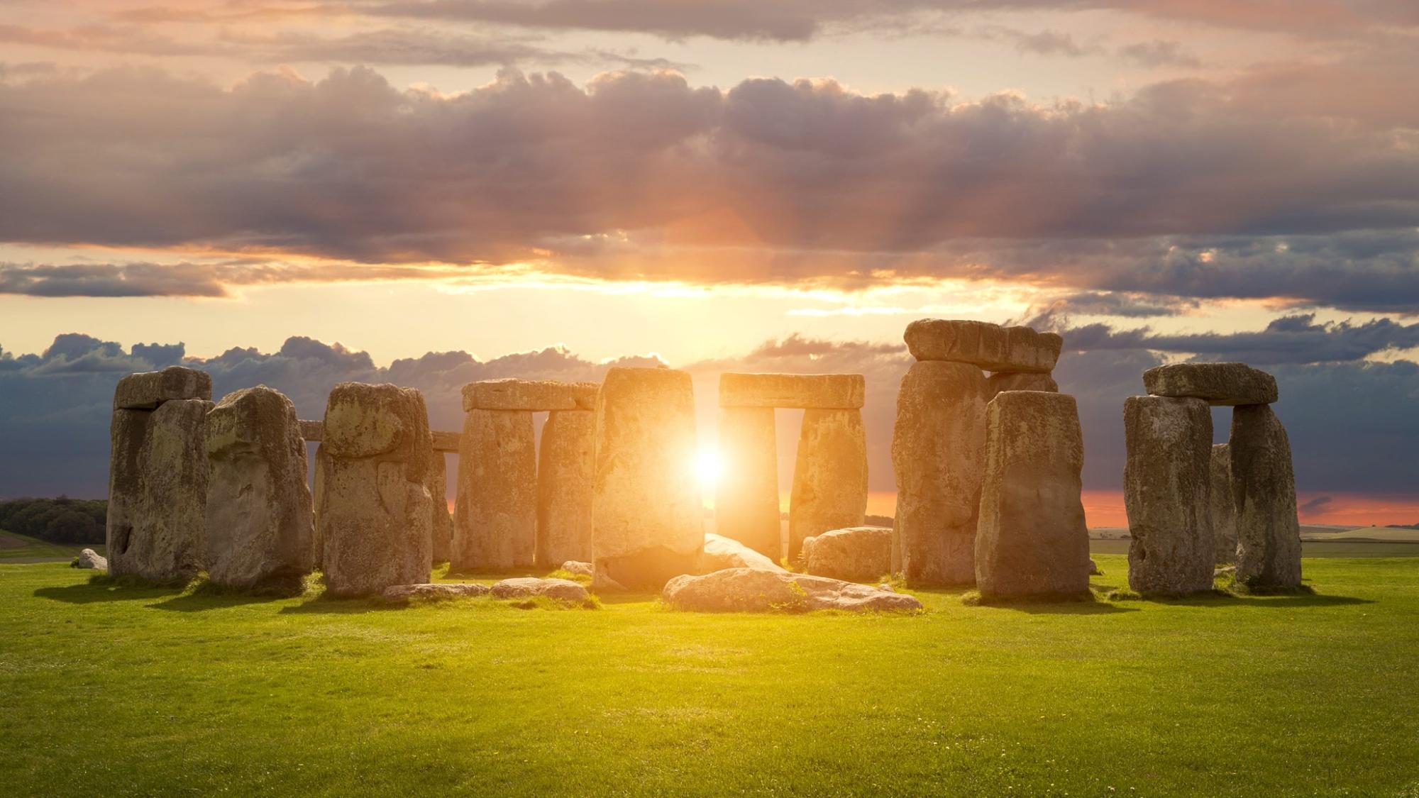 巨石陣有史以來第一次直播夏至日出©AndyRoland / Getty Images