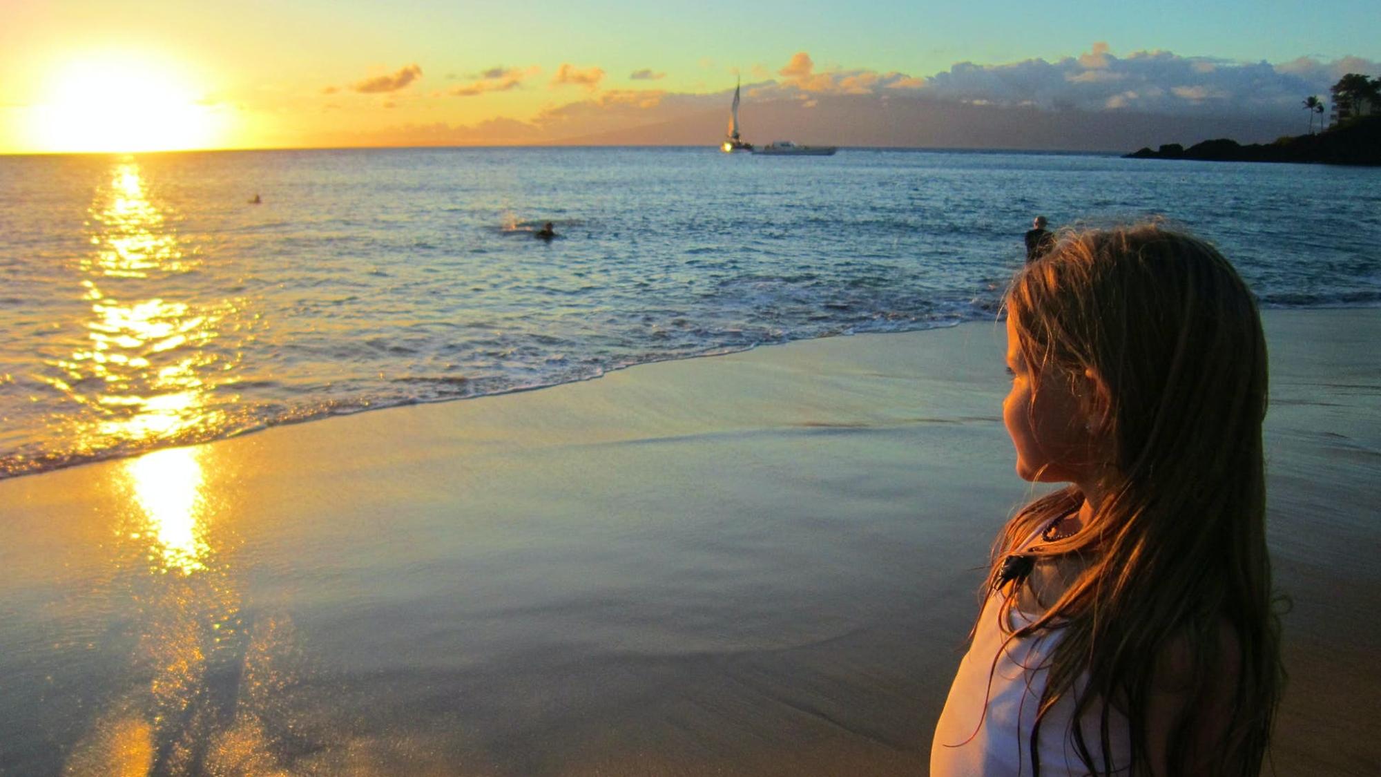 毛伊島上的日落©JBetts / Budget Travel