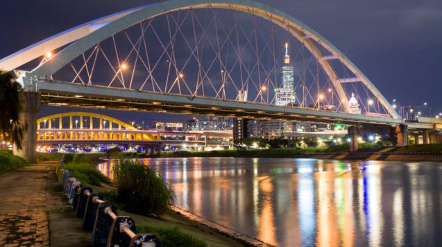 彩虹河濱/台北市河川管理科提供