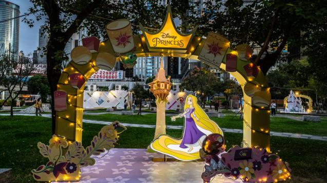 迪士尼公主的童話森林」第三站:長髮公主-希望高塔