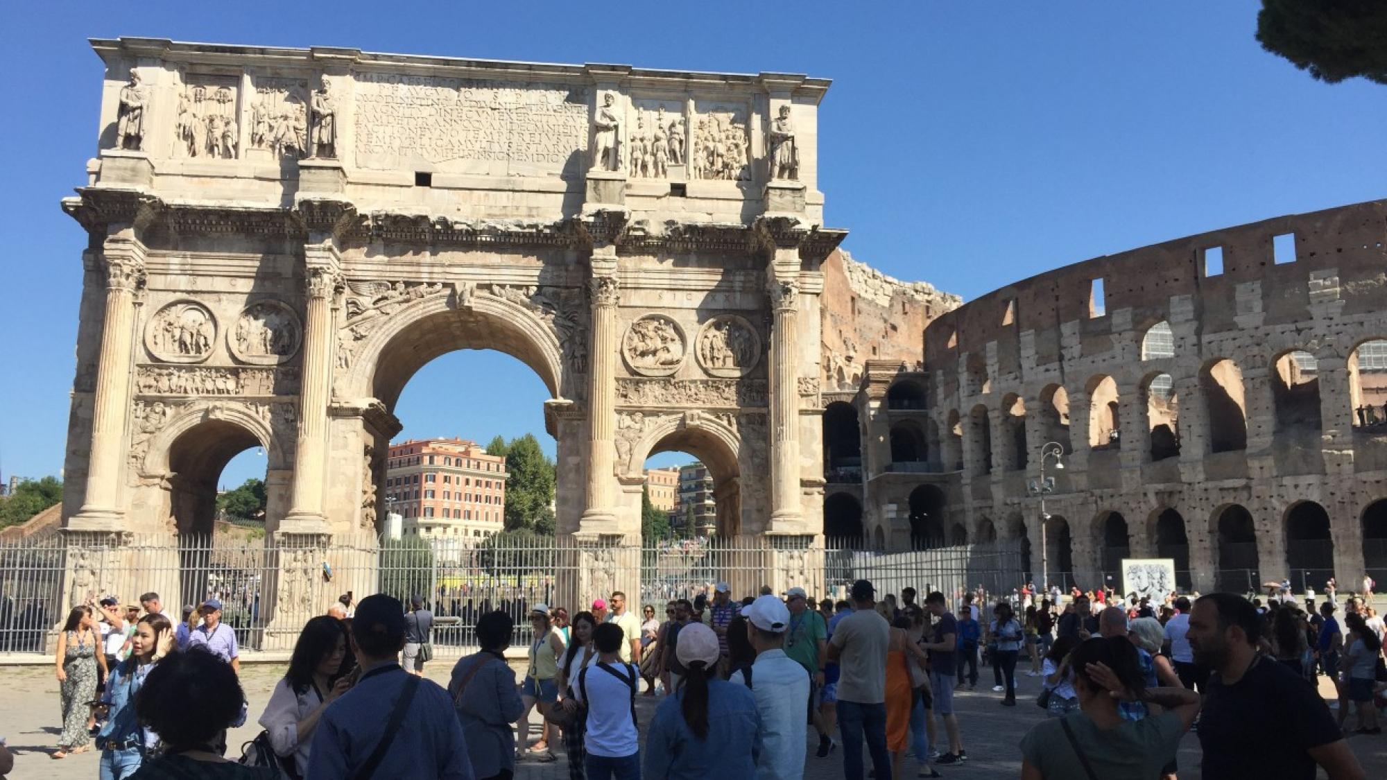 羅馬競技場及君士坦丁凱旋門