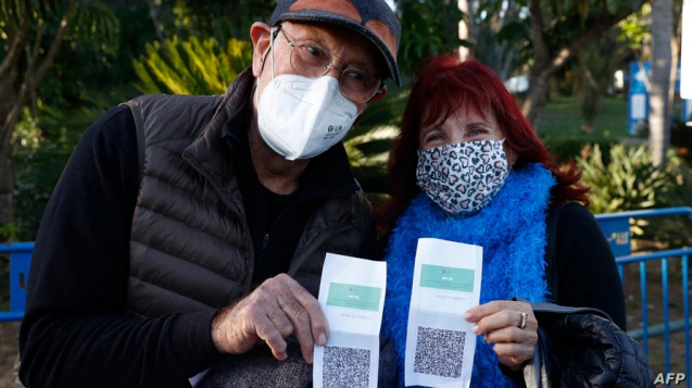 以色列的綠色通行證
