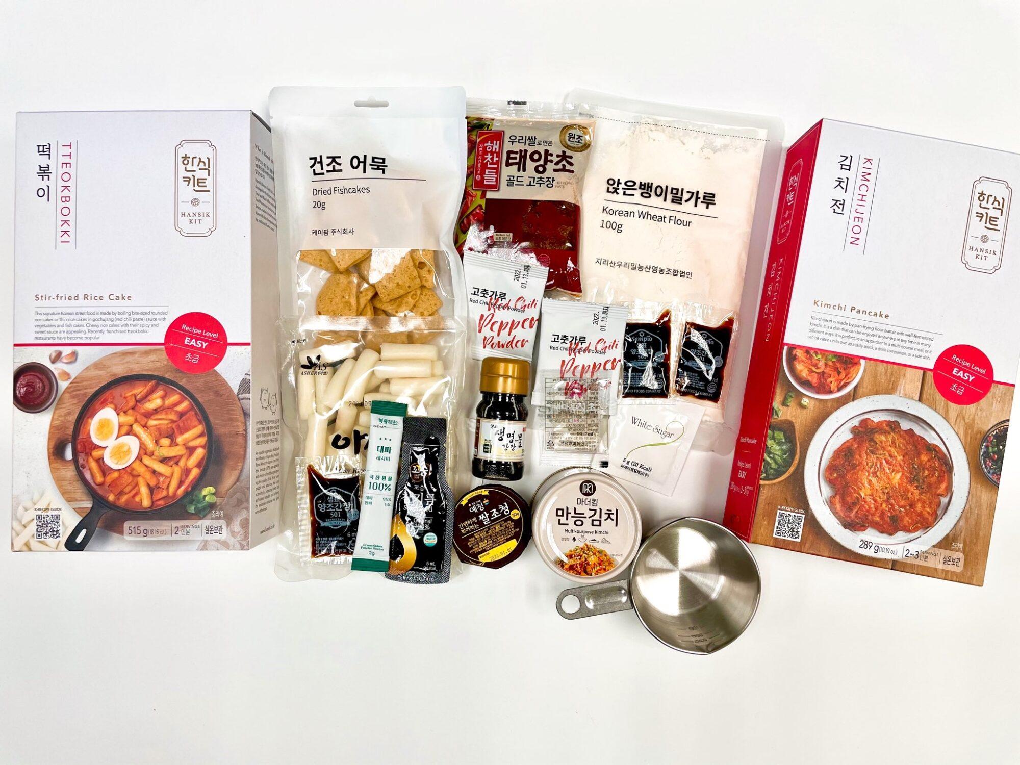 600份韓食料理體驗組合包免費送 韓國觀光公社讓你宅家做韓食