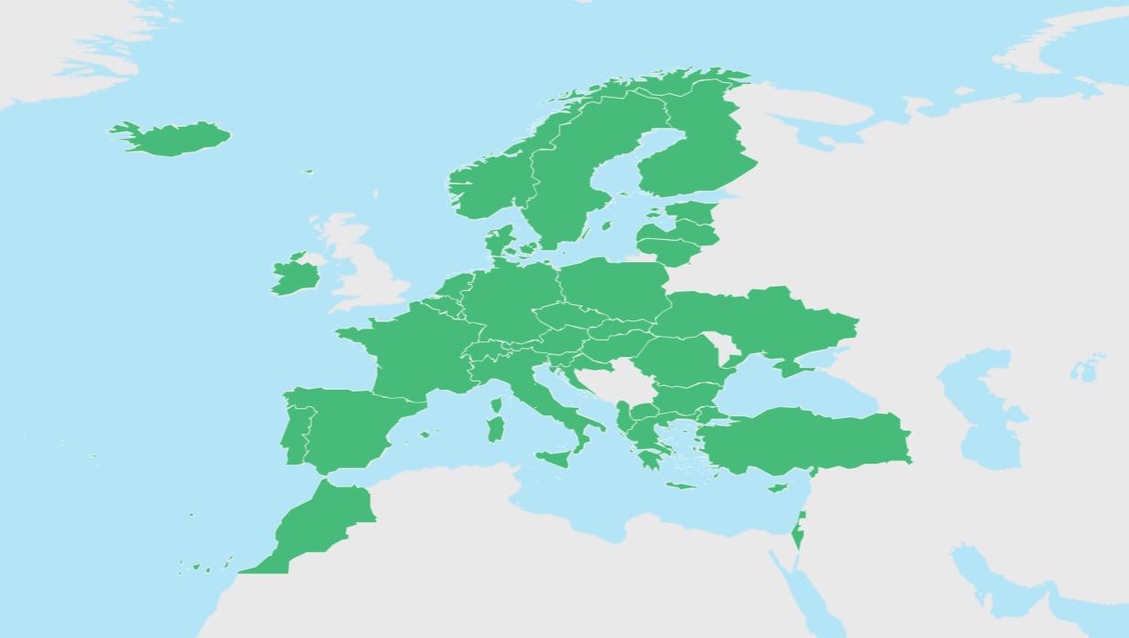 世界旅遊日歐洲遊客最多的幾個國家